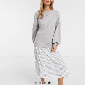 ASOS Sweater Midi Dress
